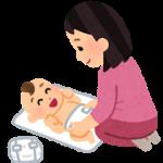 赤ちゃん男の子のオムツ替え~女の子との違いは?~